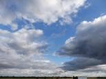 plains clouds